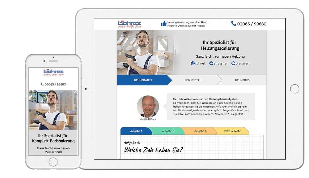 Heizungs-Hausaufgaben – Bohres GmbH