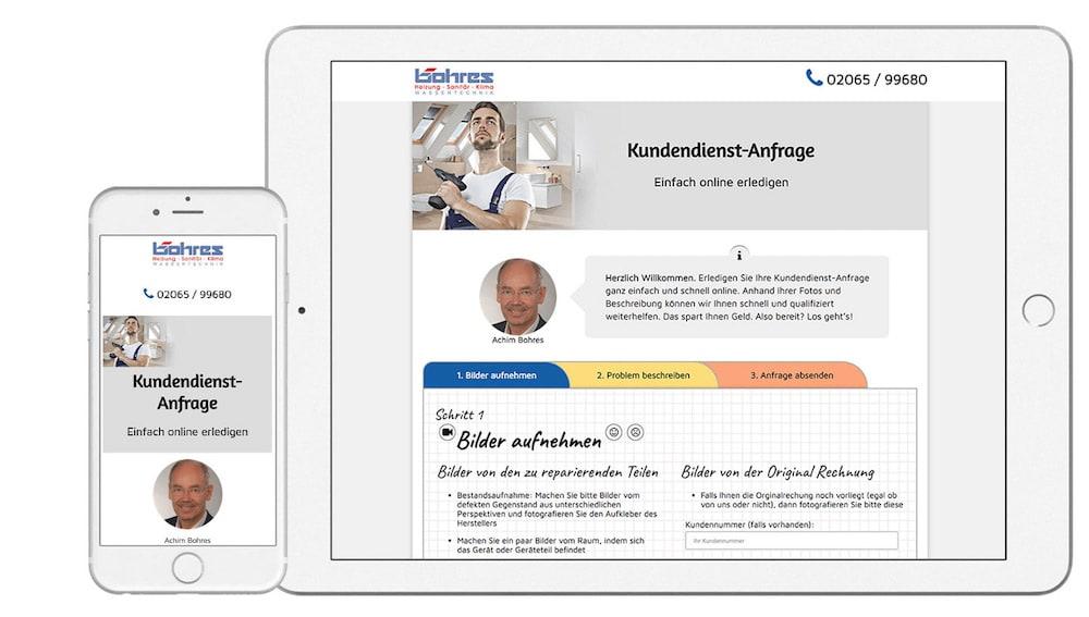 Kundendienst-Anfrage - Unser Kundendienst in Duisburg